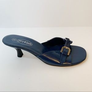 c6b9239852d27c zoey beth Shoes - Zoey Beth Bright Blue Sandals size 8 low heel
